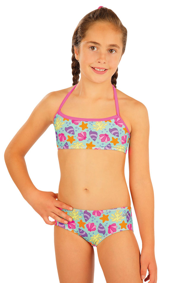 Mädchen Badetop. 52564   Kinder Badeanzüge LITEX