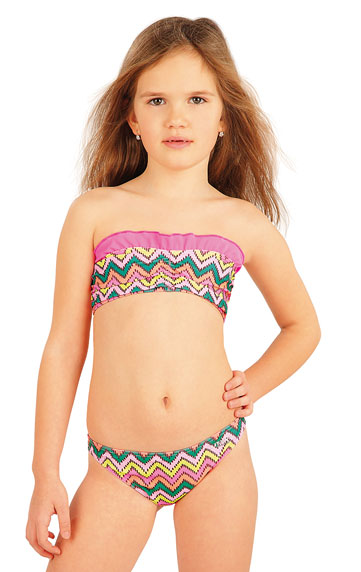 Kinder Badeanzüge > Mädchen Bikini Oberteil BANDEAU. 52572