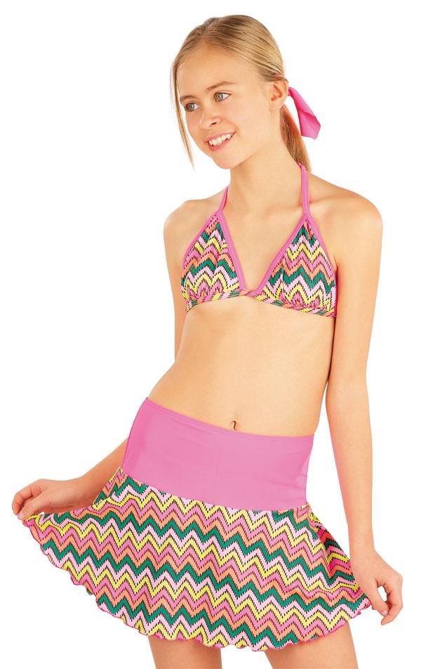 Mädchen Bikini Oberteil. 52576   Kinderbadeanzüge LITEX
