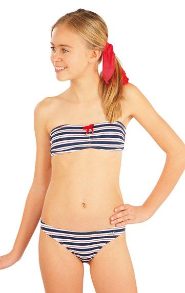 Kinder Badeanzüge > Mädchen Bikini Oberteil BANDEAU. 52583