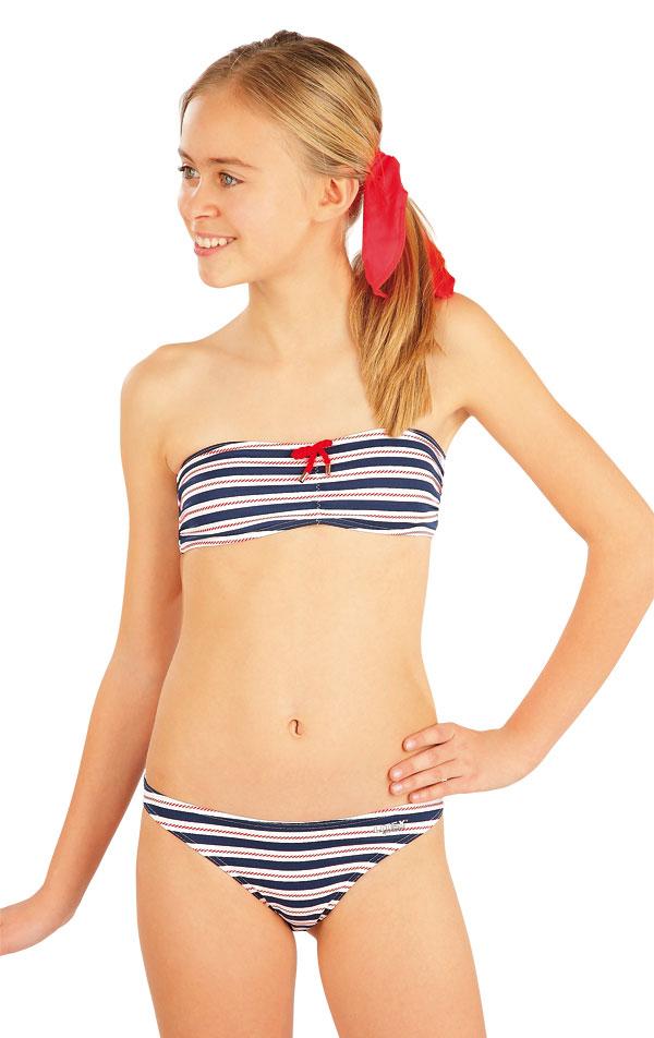 Mädchen Bikinihose, Hüfthose. 52584   Kinderbadeanzüge LITEX