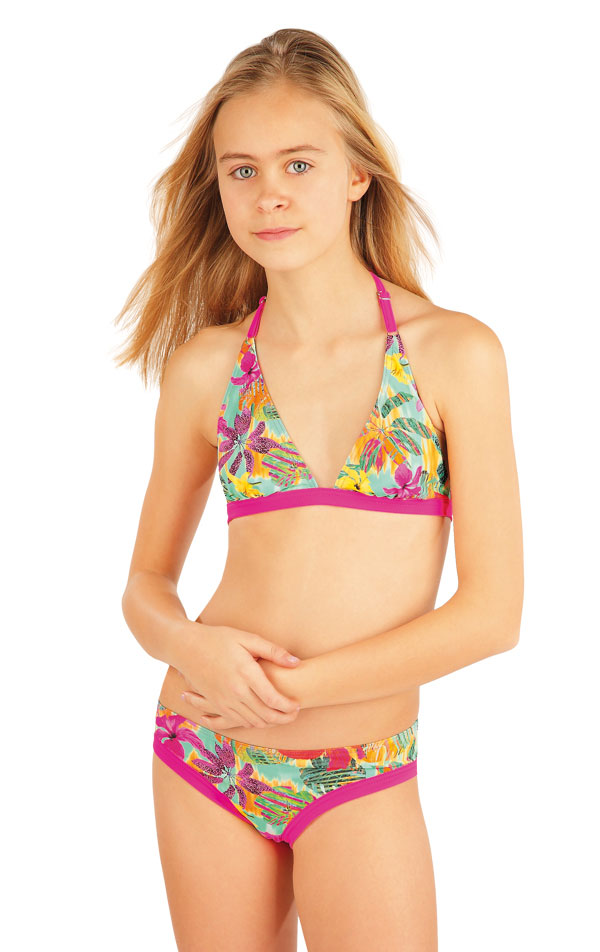 Mädchen Bikini Oberteil. 52599 | Kinderbadeanzüge LITEX