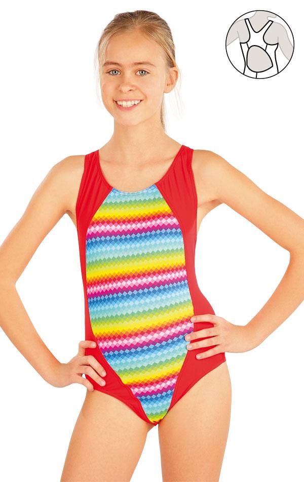 Mädchen Sport Badeanzug. 52612 | Kinderbadeanzüge LITEX