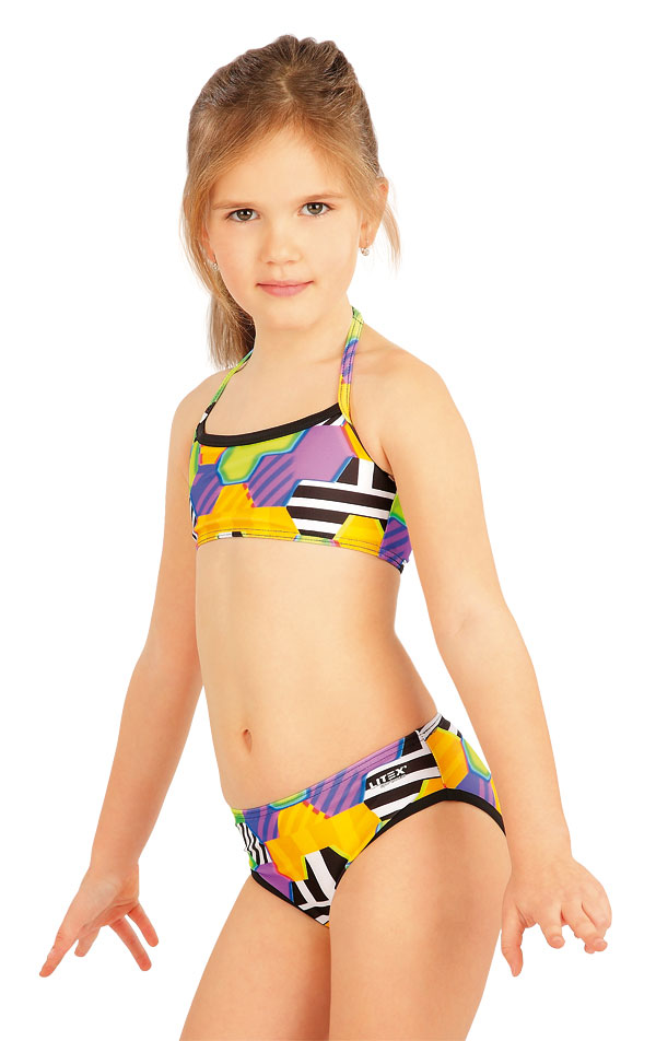 Mädchen Bikinihose, Hüfthose. 52614   Kinderbadeanzüge LITEX