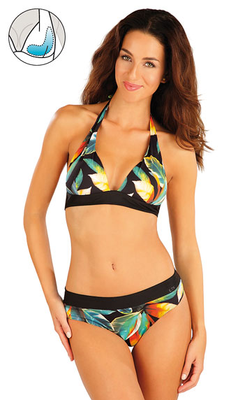 Bikini Oberteil mit Push Up Cups.