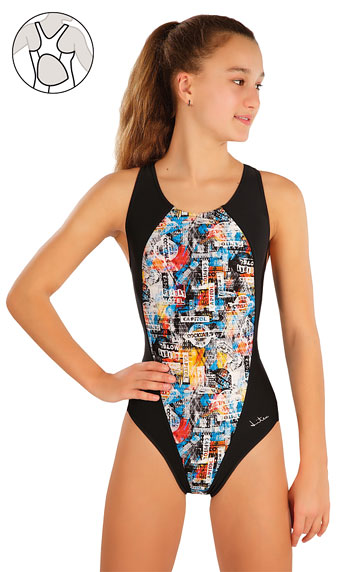 Kinderbadeanzüge > Mädchen Sport Badeanzug. 57586