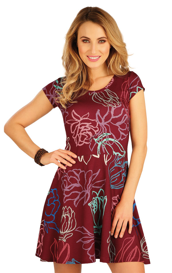 Damen Kleid kurzarm. 5A148   LITEX.DE