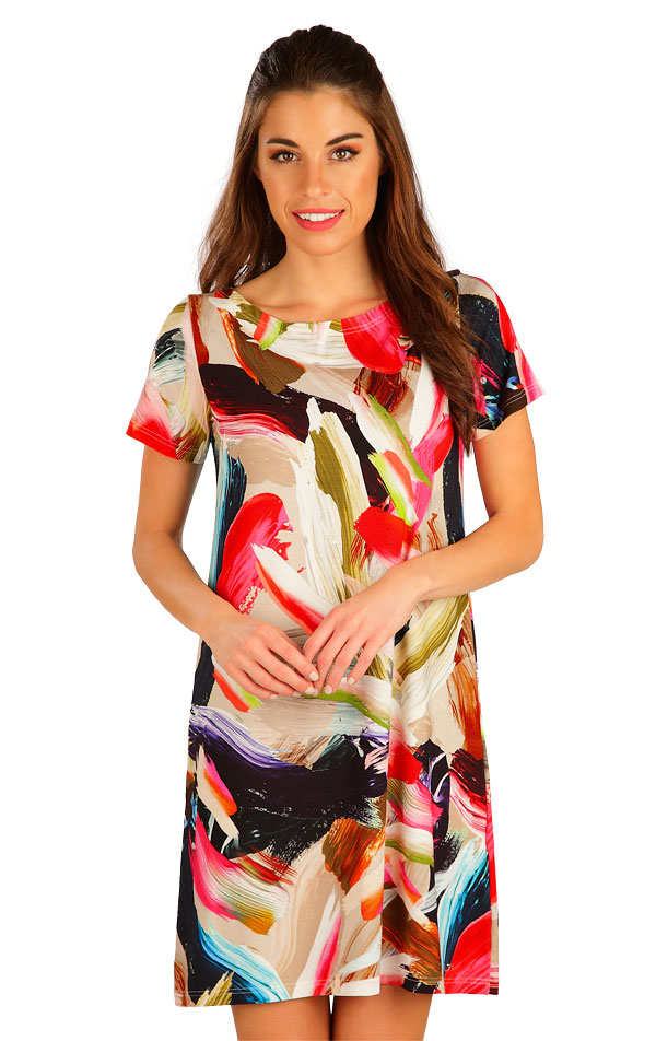 Damen Kleid kurzarm. 5B021 | Kleider, Röcke, Tuniken LITEX