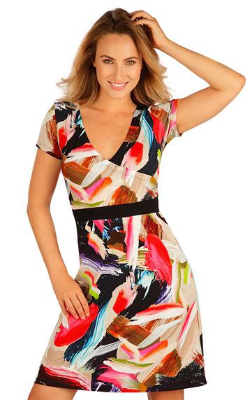 Kleider, Röcke, Tuniken > Damen Kleid kurzarm. 5B022