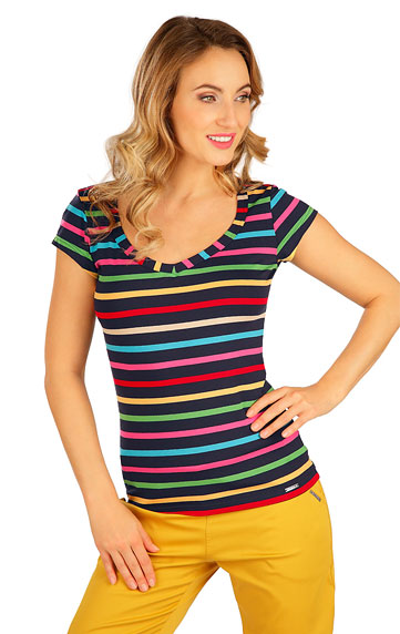 T-Shirts, Tops, Blusen > Damen T-Shirt, kurzarm. 5B038