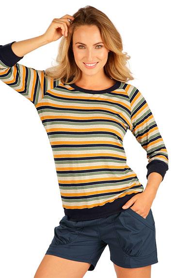 T-Shirts, Tops, Blusen > Damen T-Shirt, mit 3/4 Ärmeln. 5B055