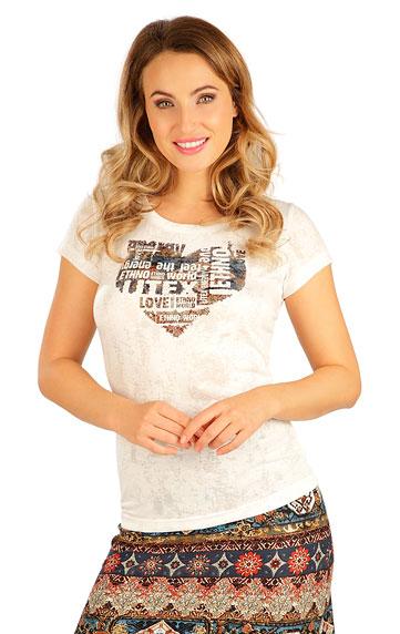 T-Shirts, Tops, Blusen > Damen T-Shirt, kurzarm. 5B056