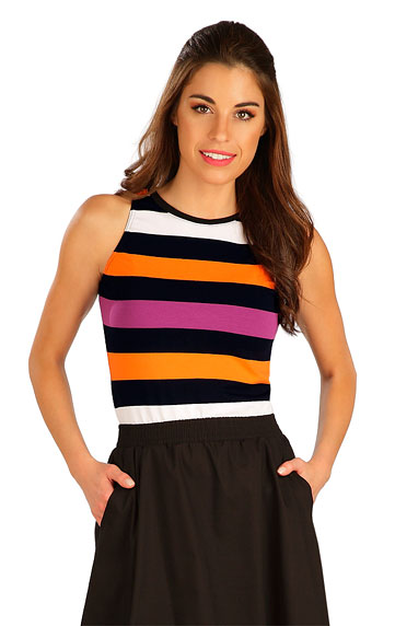 T-Shirts, Tops, Blusen > Damenkleid, ärmellos. 5B069