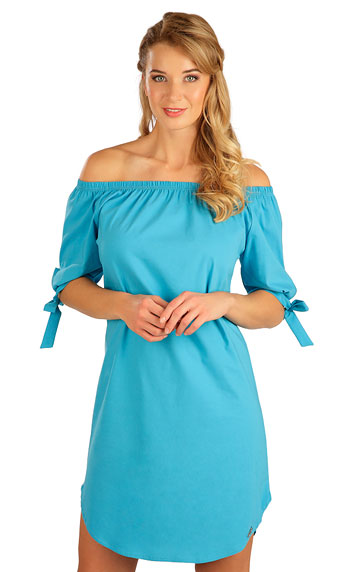 Kleider, Röcke, Tuniken > Damen Kleid kurzarm. 5B103