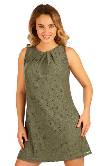 Damen Kleid ohne Ärmel.