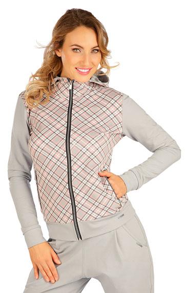 Sportbekleidung > Damen Sweatshirt mit Kapuzen. 5B215