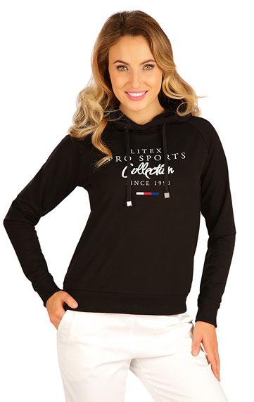 Sportbekleidung > Damen Sweatshirt mit Kapuzen. 5B224
