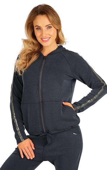 Sportbekleidung > Damen Sweatshirt mit Kapuzen. 5B241