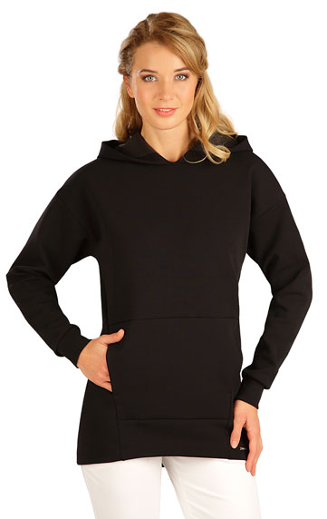 Sweatshirts, Rollkragenpullover > Damen Sweatshirt mit Kapuzen. 5B267