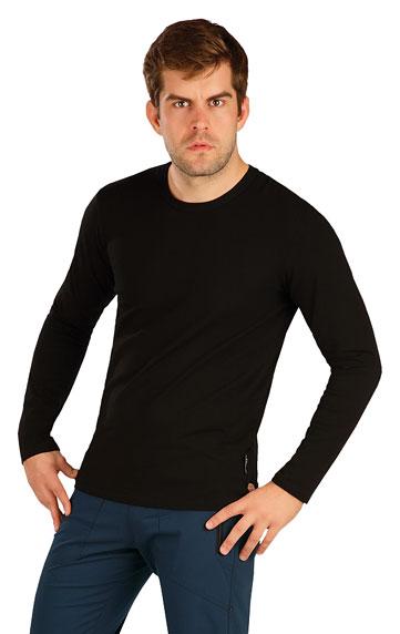HERRENMODE > Herren T-Shirt mit langen Ärmeln. 5B296