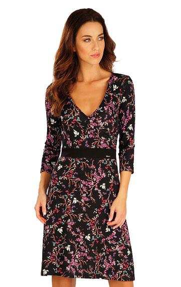 Sale > Damen Kleid mit 3/4 Ärmeln. 60004