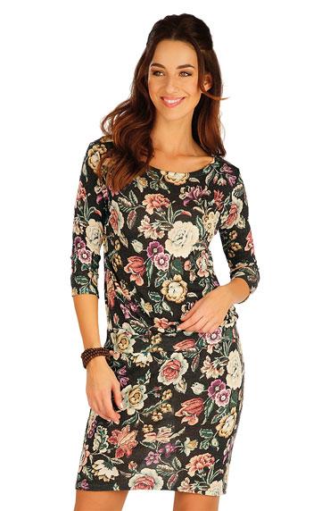 Sale > Damen Kleid mit 3/4 Ärmeln. 60009