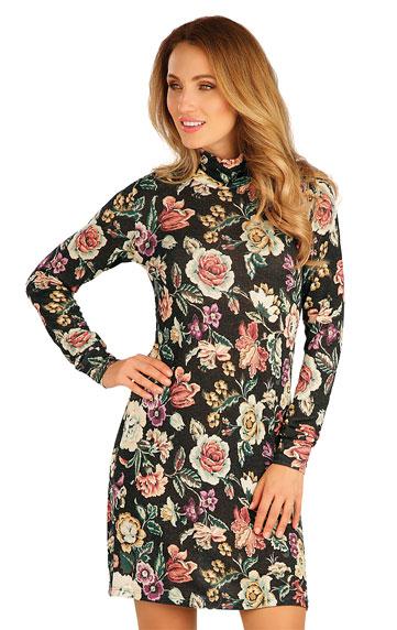 Sale > Damen Kleid langarm. 60010