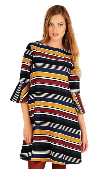 Sale > Damen Kleid mit 3/4 Ärmeln. 60016