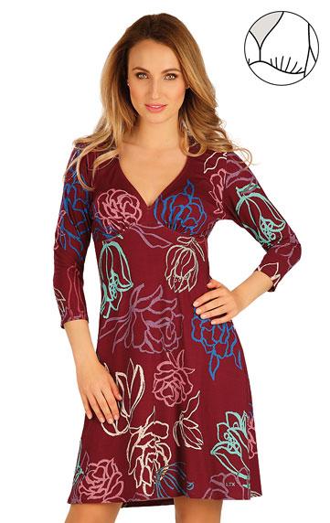 Sale > Damen Kleid mit 3/4 Ärmeln. 60027