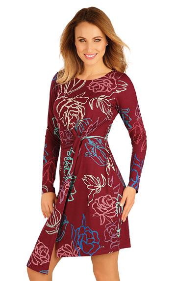 Sale > Damen Kleid langarm. 60028