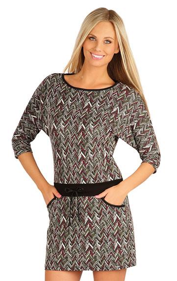 Sale > Damen Kleid mit 3/4 Ärmeln. 60036