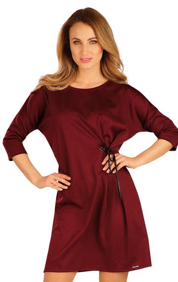 Sale > Damen Kleid mit 3/4 Ärmeln. 60042
