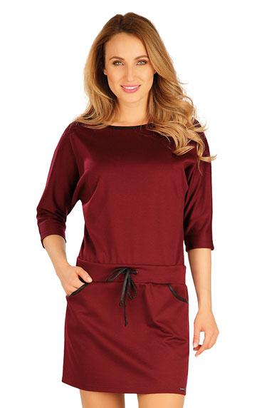 Sale > Damen Kleid mit 3/4 Ärmeln. 60043