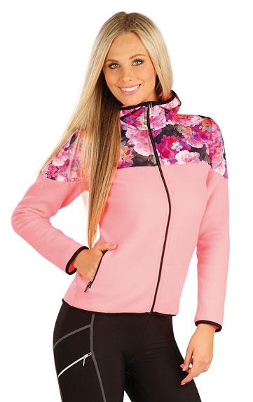Sale > Fleece Damen Sweatshirt mit Kapuzen. 60219