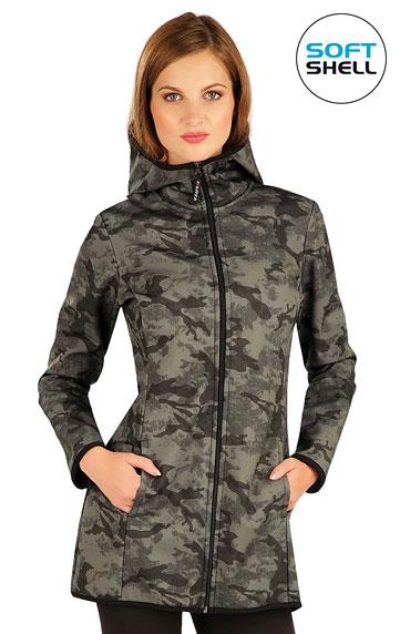 Damen Softshell Jacke mit Kapuze.