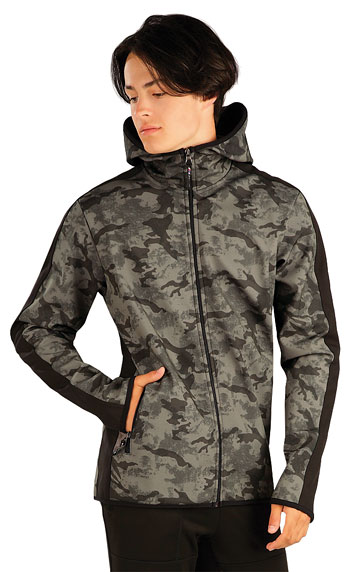 Sweatshirts, Jacken > Herren Softshell Jacke mit Kapuze. 60282