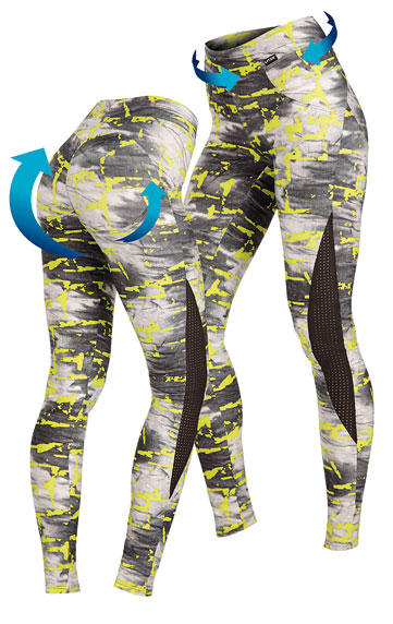 Damen Push-up Leggings, lang.