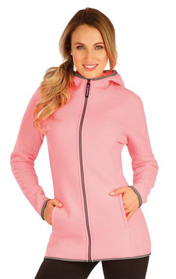 Westen und Jacken > Fleece Damen Sweatshirt mit Kapuzen. 60500
