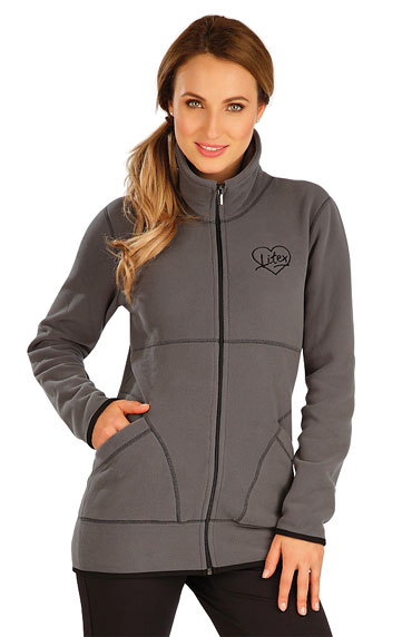 Westen und Jacken > Fleece Damen Sweatshirt. 60515