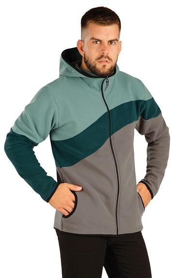 Sweatshirts, Jacken > Herren Fleece Sweatshirt mit Kapuzen. 60516