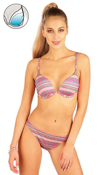 Bikini Oberteil mit Push Up Cups.