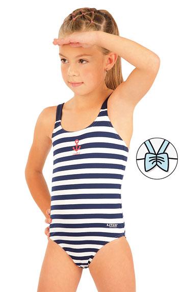 Mädchen Badeanzug.