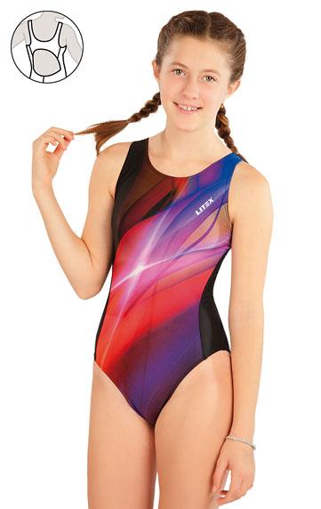 Kinder Badeanzüge > Mädchen Sport Badeanzug. 63646