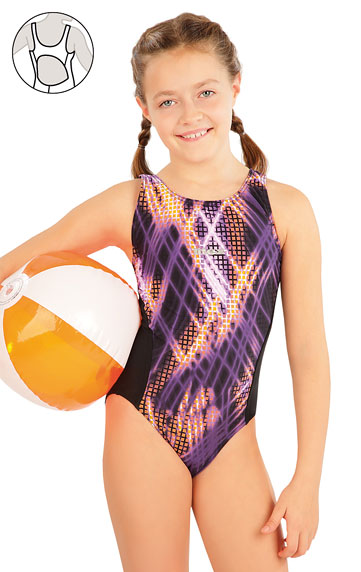Kinder Badeanzüge > Mädchen Sport Badeanzug. 63649