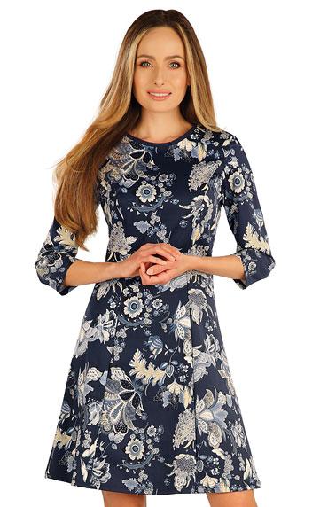 Kleider, Röcke, Tuniken > Damen Kleid mit 3/4 Ärmeln. 7A003