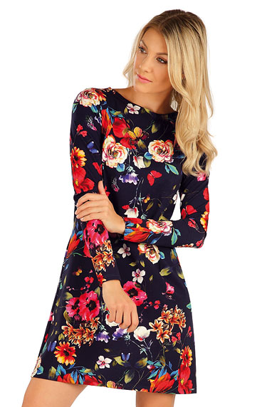 Kleider, Röcke, Tuniken > Damen Kleid langarm. 7A007
