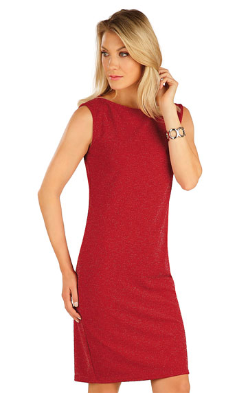 Kleider, Röcke, Tuniken > Damen Kleid ohne Ärmel. 7A016