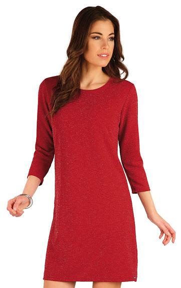 Damen Kleid mit 3/4 Ärmeln.