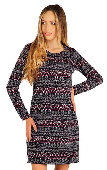 Kleider, Röcke, Tuniken > Damen Kleid langarm. 7A042