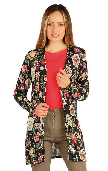 Pullover, Cardigans, Rollkragenpullover > Damen Cardigan, langarm. 7A052
